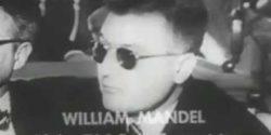 William Mandel at the San Francisco HUAC hearing