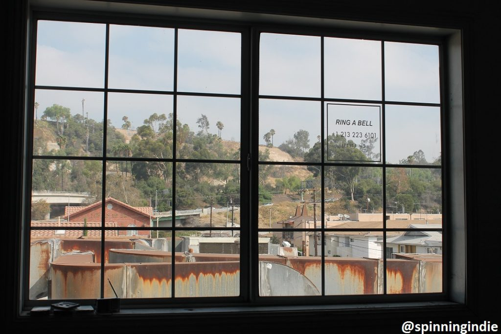View out of window at KCHUNG. Photo: J. Waits