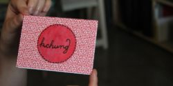 KCHUNG card. Photo: J. Waits