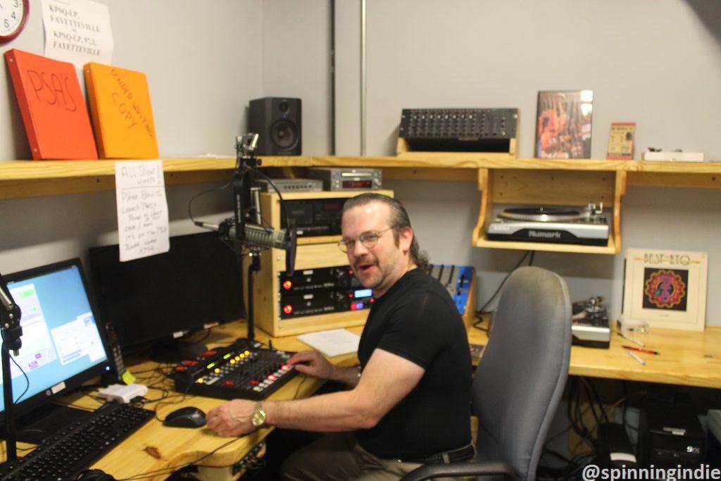 KPSQ-LP's on-air studio in October 2016. Photo: J. Waits