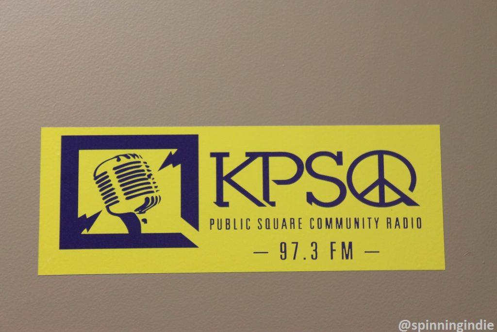 KPSQ sticker. Photo: J. Waits