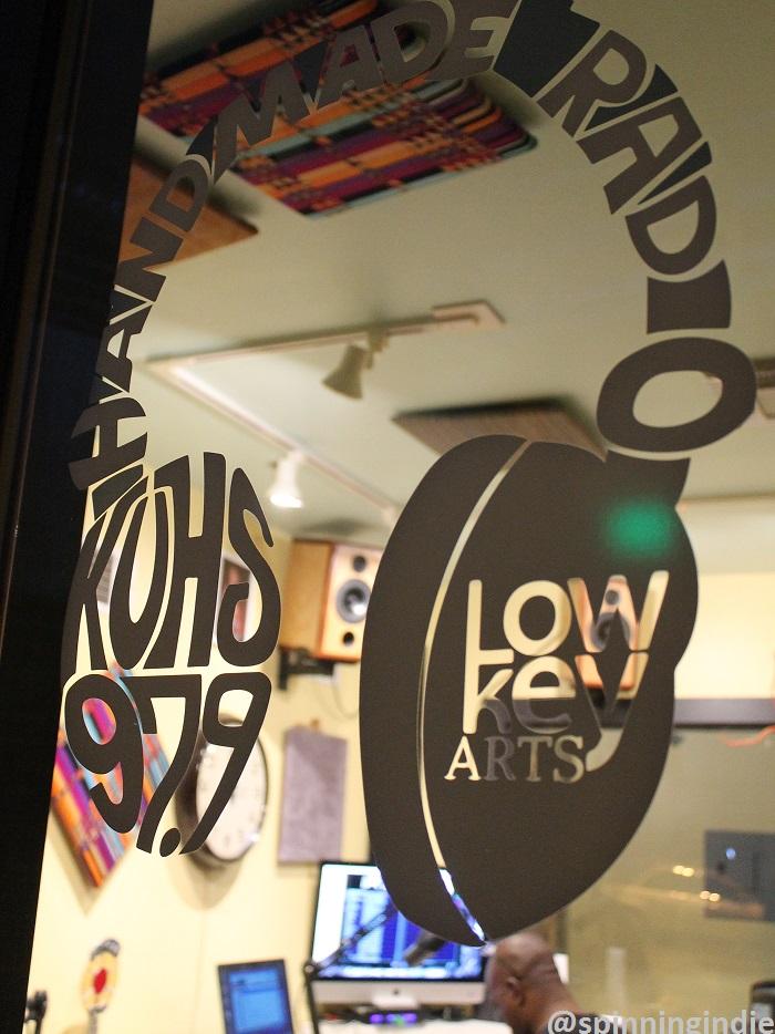 View into LPFM KUHS-LP's studio. Photo: J. Waits