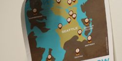 Map of proposed Seattle-area LPFM stations, including college radio station UWave. Photo: J. Waits