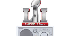 Super Bowl LI on the radio