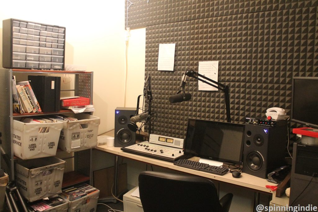 WVCW production studio. Photo: J. Waits