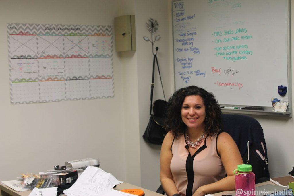 Jillian Smith in her office at Cabrini University. Photo: J. Waits