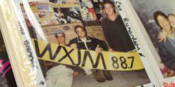 Photo albums at college radio station WXJM. Photo: J. Waits