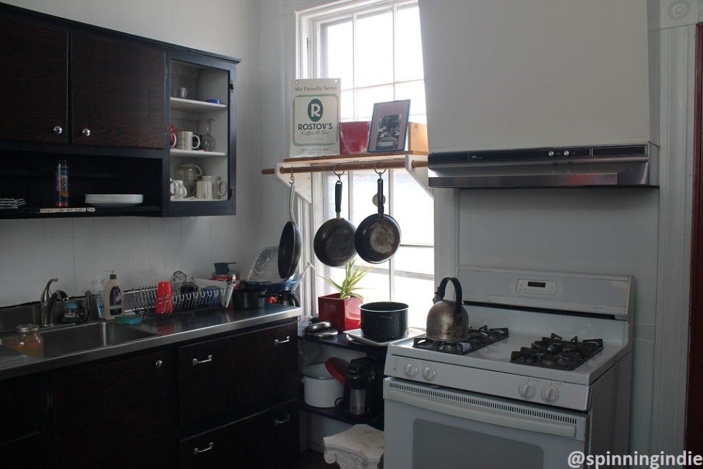 Kitchen at WRIR. Photo: J. Waits