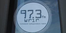 Logo for community radio station WRIR-LP. Photo: J. Waits