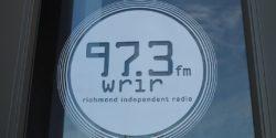 Logo for community radio station WRIR-LP. Photo: J. Waits