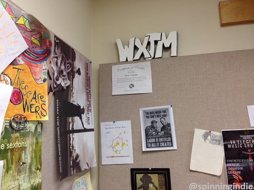 WXJM sign by Leo Blais. Photo: J. Waits