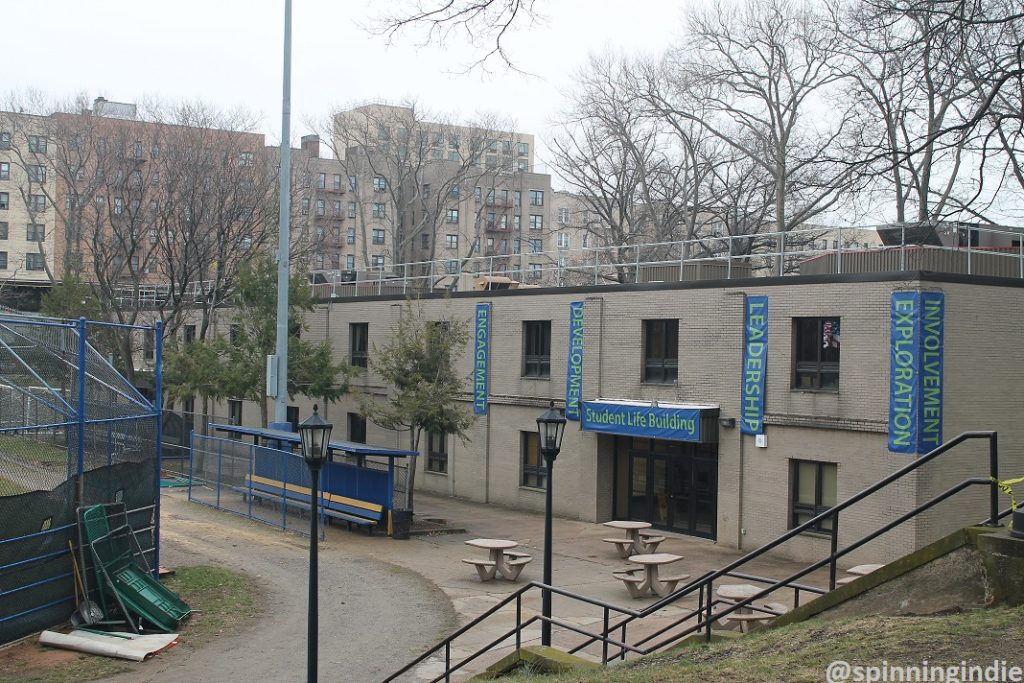 Student Life building at Lehman College. Photo: J. Waits