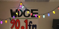 WDCE sign at the University of Richmond college radio station. Photo: J. Waits