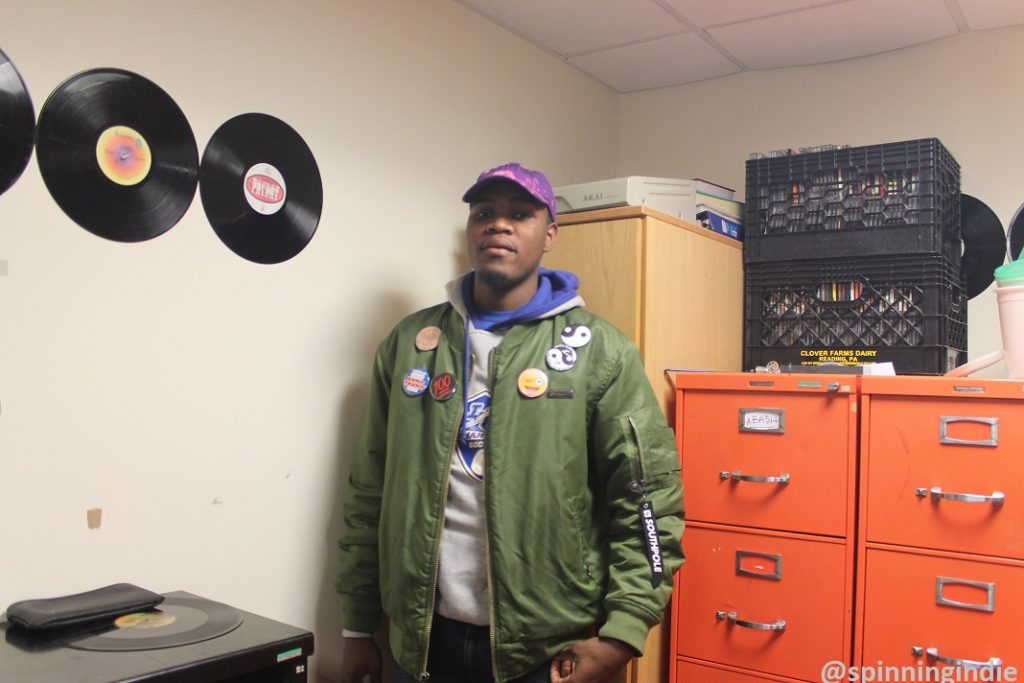 ABA$H in the Lehman College Radio studio. Photo: J. Waits