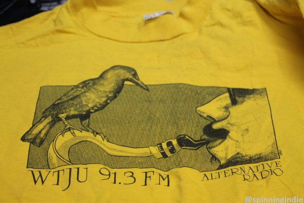 Vintage WTJU T-shirt. Photo: J. Waits
