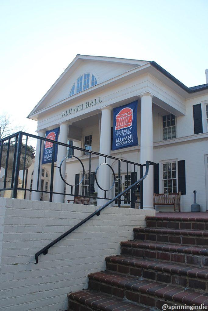 WUVA's home at Alumni Hall at UVA. Photo: J. Waits
