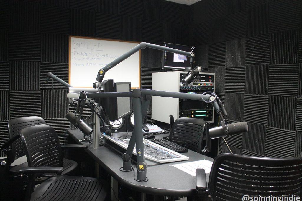WHIP studio. Photo: J. Waits