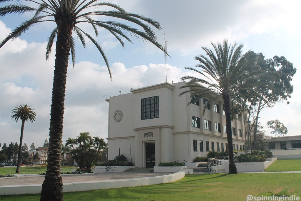 Malone building on Loyola Marymount University campus. Photo: J. Waits