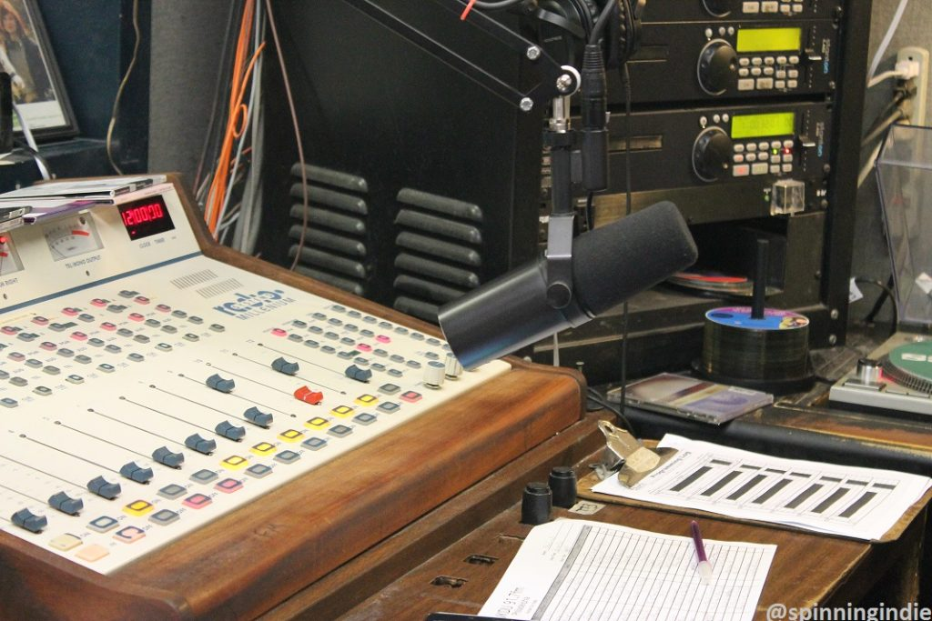 WKDU's Master Control Room (aka MCR). Photo: J. Waits