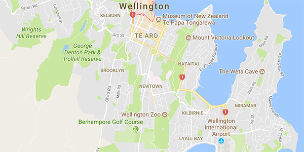 Where Is Wellington New Zealand On The Map.Interference Conflict Between Unlicensed Stations In New Zealand