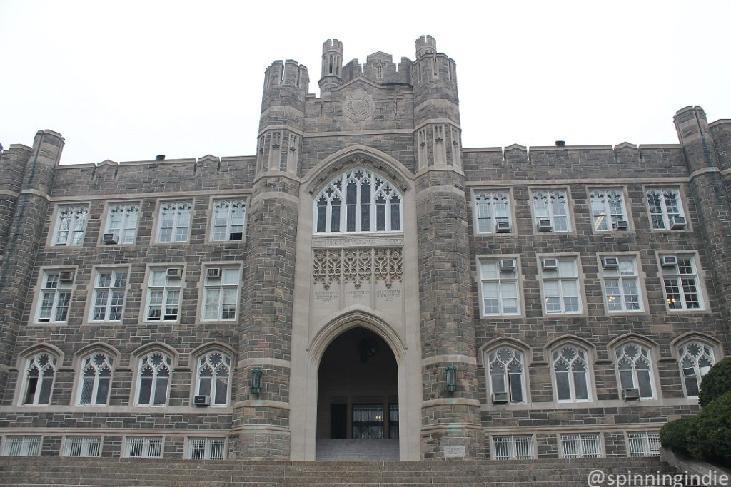 Keating Hall at Fordham University - home to WFUV. Photo: J. Waits