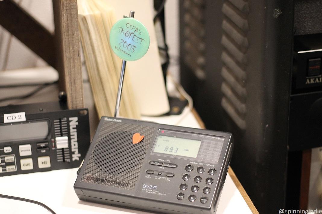 Radio Station Visit #147: KAKX at Mendocino High School