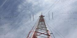 Radio tower portrait by Amanda Dawn Christie
