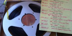 Reel-to-reel tape from LGBTQ archive. Photo: Brian DeShazor