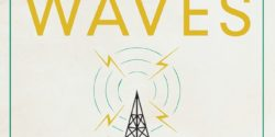 Mexican Waves book cover with image of radio tower