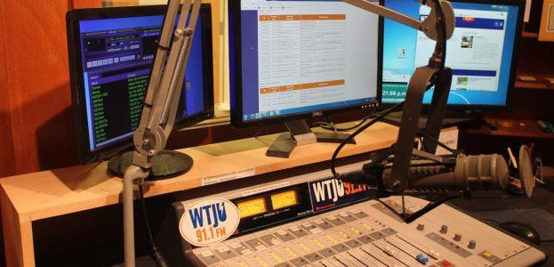 WTJU studio. Photo: J. Waits