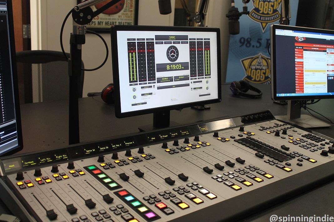 Radio station visit 130 wnuw lp at neumann university for Classic house radio station