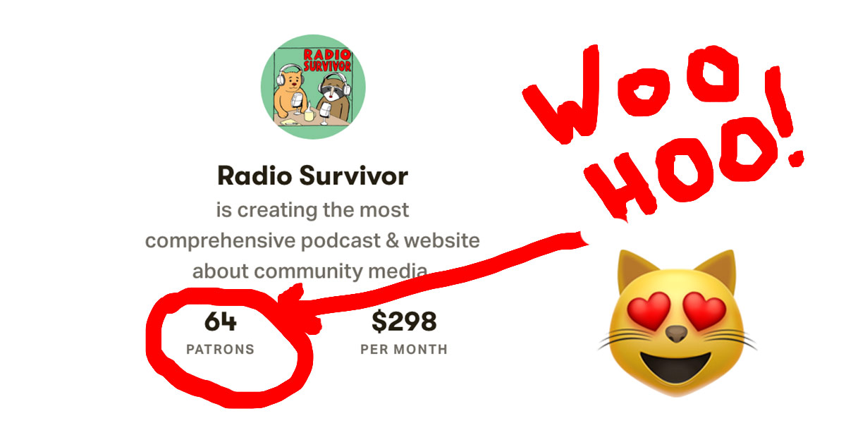 Thanks to All Our Supporters! - Radio Survivor