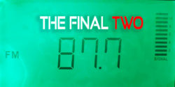 87.7 FM dial - the final two